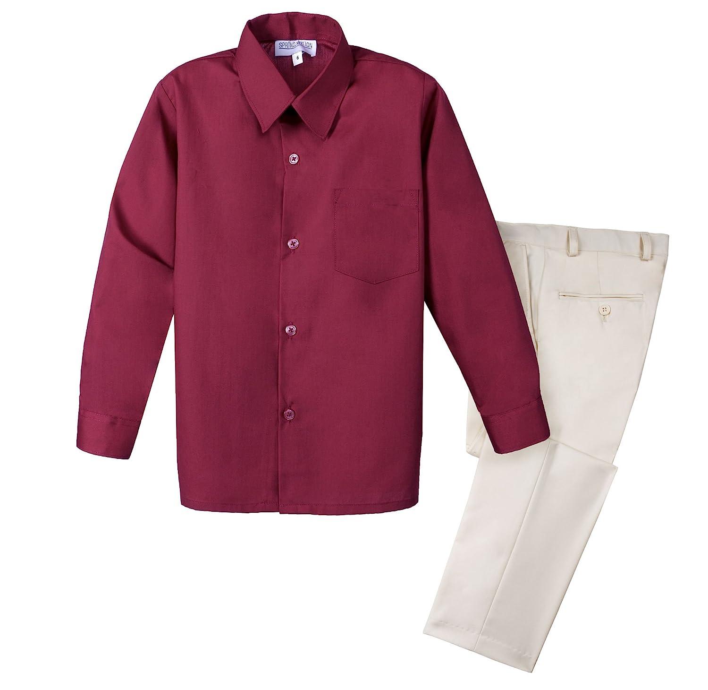 Spring Notion Boys 2-Piece Dress Pants and Shirt Set SN338S2-SNS-338S2