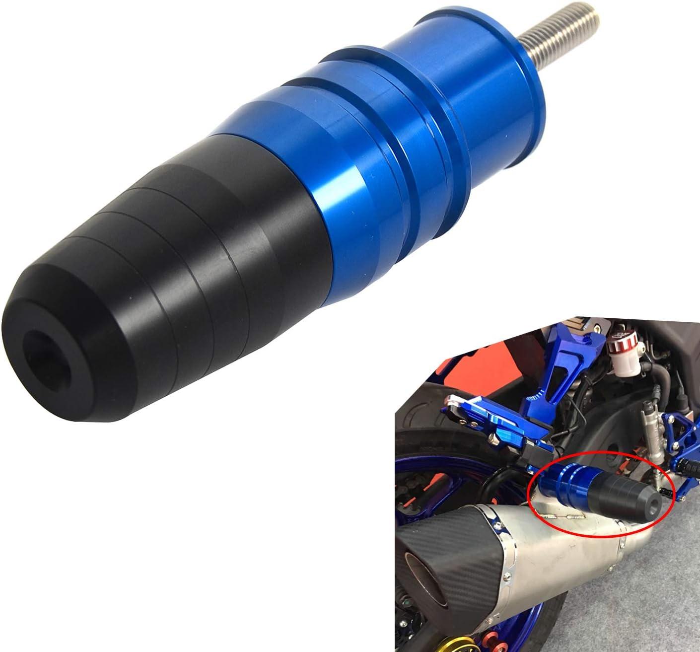Nicecnc Titanium Crash Pads Exhaust Sliders Body Protector Replace YAMAHA /YZF-R3//MT-03 2015-2016,HONDA CB1100 2010-2016 CB1100EX 2013 2014 2015