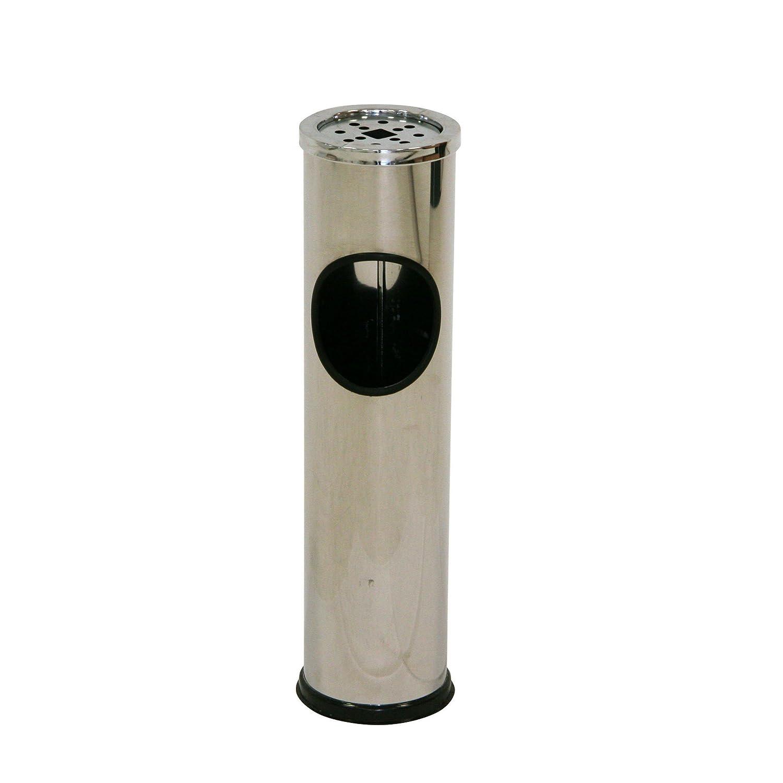 best axentia poubelle avec cendrier pour extrieur cendrier sur pied en acier inox avec poubelle. Black Bedroom Furniture Sets. Home Design Ideas