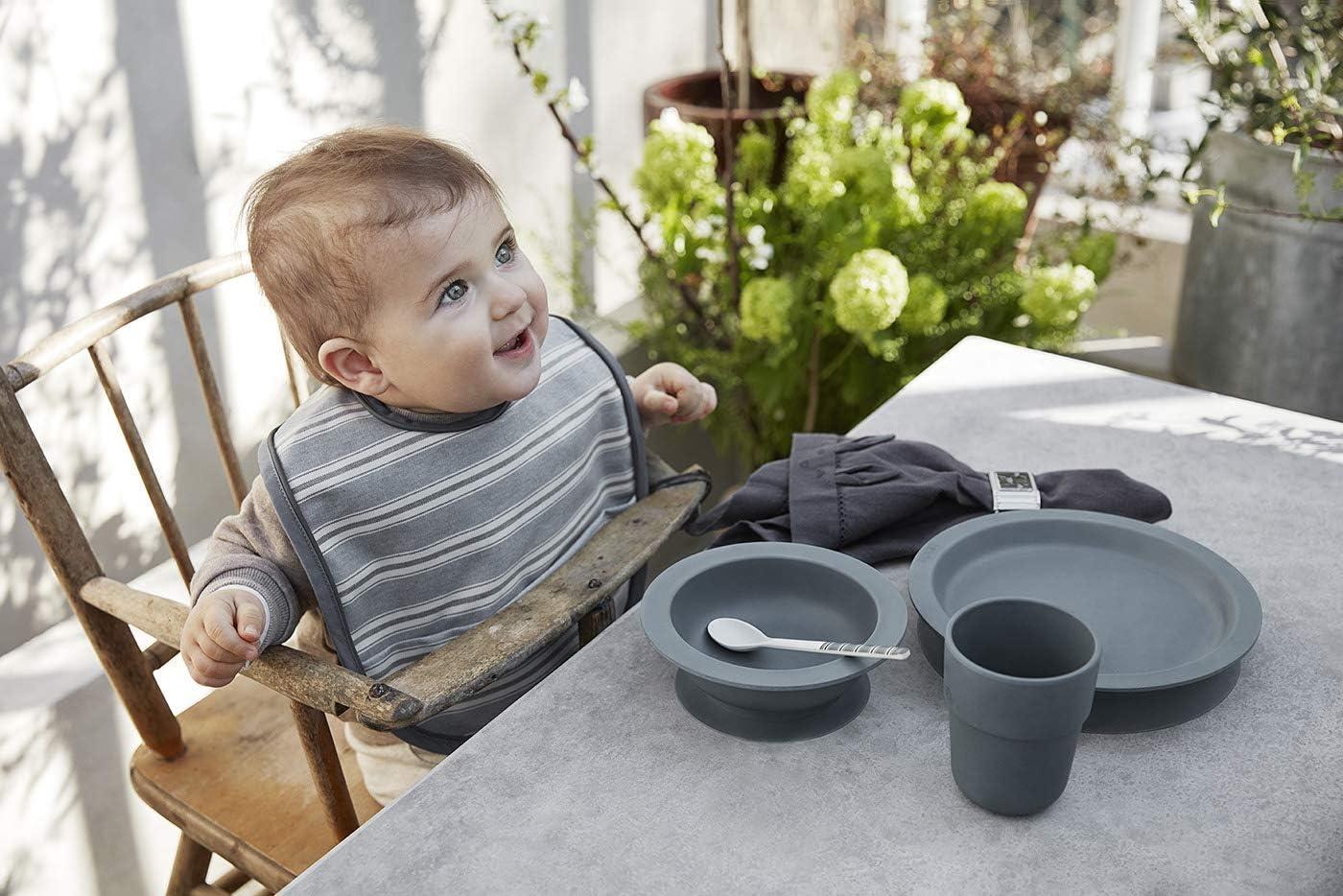 Elodie Details Juego de 2 Cucharas de bamb/ú para beb/és Desert Rain Blanco