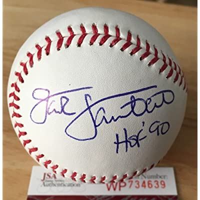 a3dbd7189 Jack Lambert Signed Autograph Major League Baseball JSA Certified Pittsburgh  Steelers