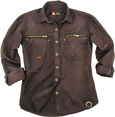 Kakadu Traders Australia Camisa de Hombre Exterior de Trabajo de algodón. de Cacatúa Australia: Amazon.es: Ropa y accesorios