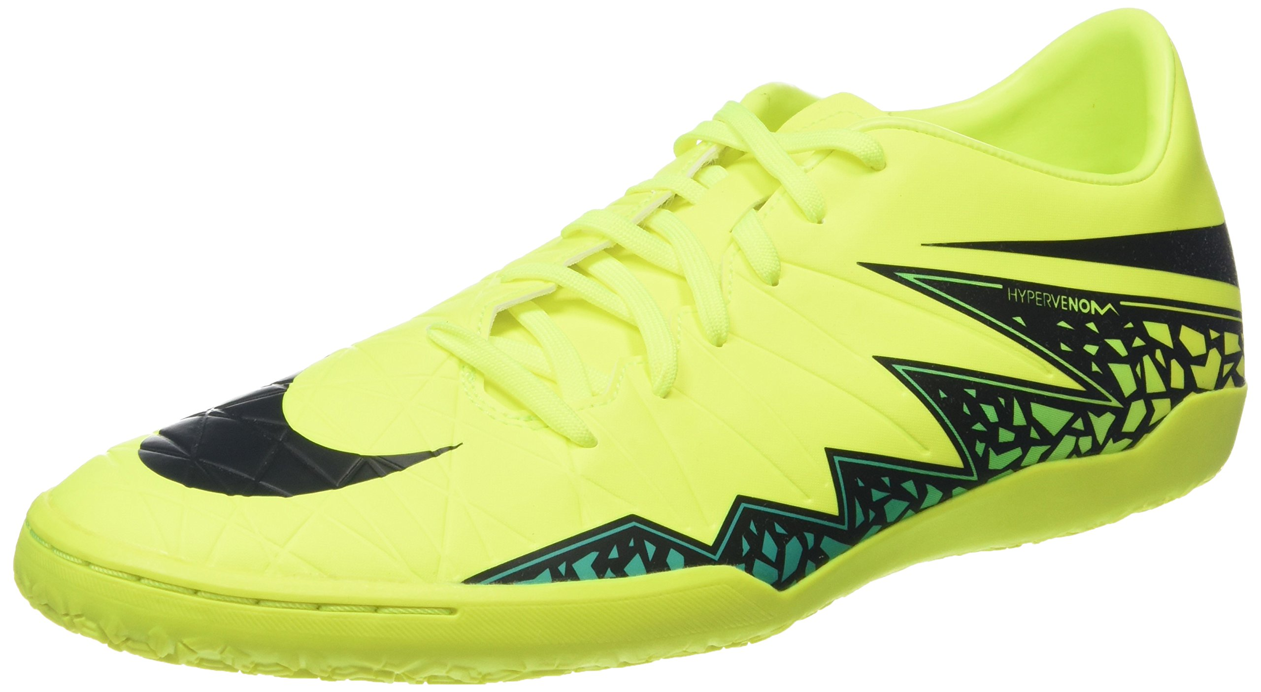 new style ec352 d97b3 Galleon - NIKE New Men s Hypervenom Phelon II IC Soccer Shoe Volt Black 8.5