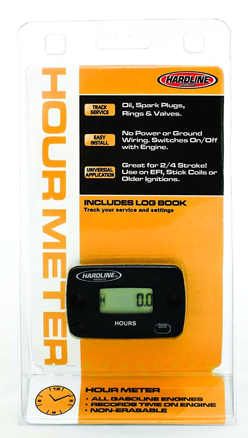 Hardline Products HR-8063-2 Hour Meter with Log Book