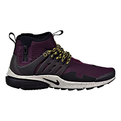 low priced 9bc3a e89cc ... good nike air presto mid utility mens running shoes bordeaux black pale  grey 859524 67772 48737