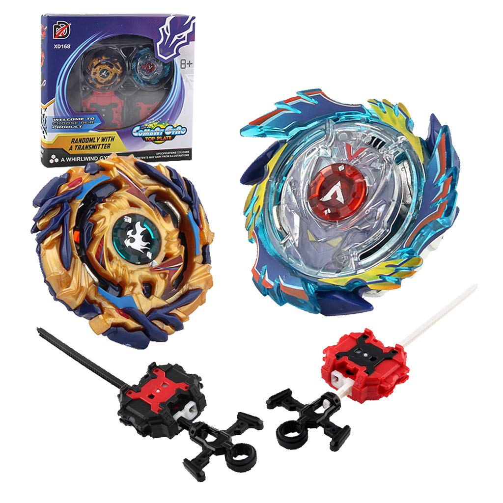 MagiDeal God Valkyrie.6V.Rb B-73 Drain FAFNIR.8 Nt B-79 Box of 2pcs Burst Spinning Top Stadium Plate Ripcord Launcher Rapidity Set Toy non-brand