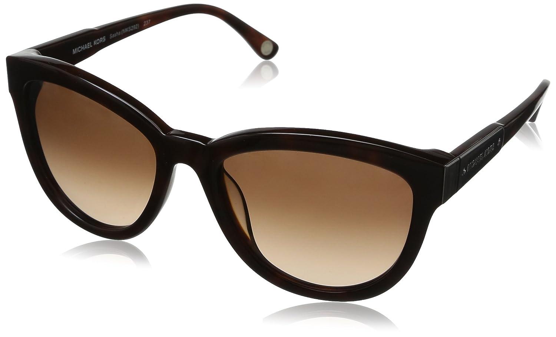 97e27105f47175 Michael Kors - Lunette de soleil MKS292 Papillon - Femme - Brown frame    Brown lens (237)  Amazon.fr  Vêtements et accessoires