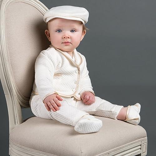5d73f123504b Amazon.com  Boys Christening Suit -Liam Boys Baptism outfit  Handmade