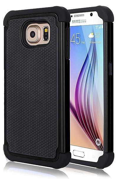 FDTCYDS - Carcasa para Samsung Galaxy S6 Edge (plástico y ...
