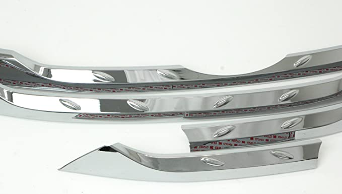 Amazon.com: AUTOCLOVER B229 Chrome Hood Radiator Grill Garnish Molding Trim Center 5-pc Set For 2013 2014 Hyundai Santa Fe SPORT : DM: Automotive