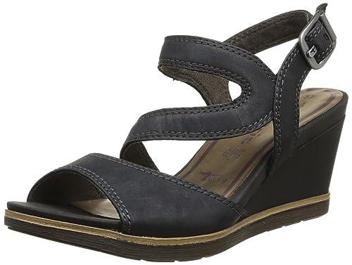 Tamaris 1 1 28328 22 001, Women's Sandals Black Size: 11