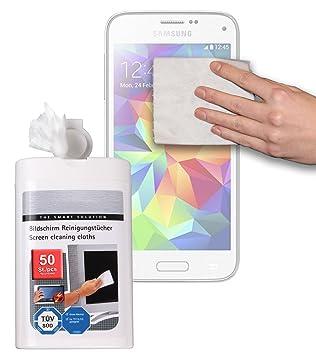 DURAGADGET Toallitas Para Limpiar La Pantalla De Samsung Galaxy S5 Mini SM-G800F
