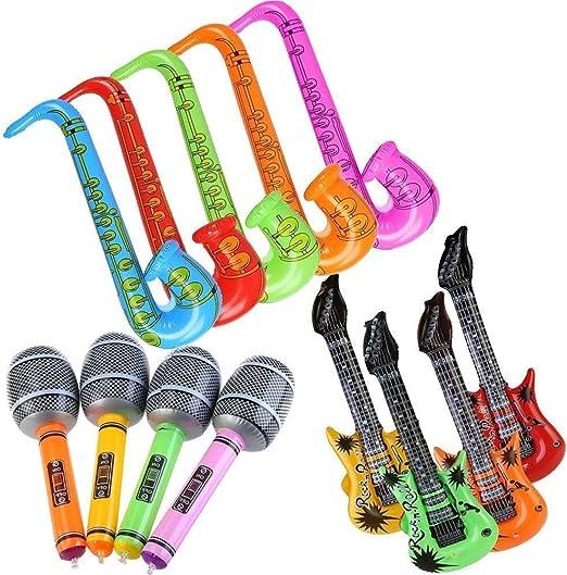 EPRHY - Globos hinchables para Guitarra y saxofón, Accesorios para ...