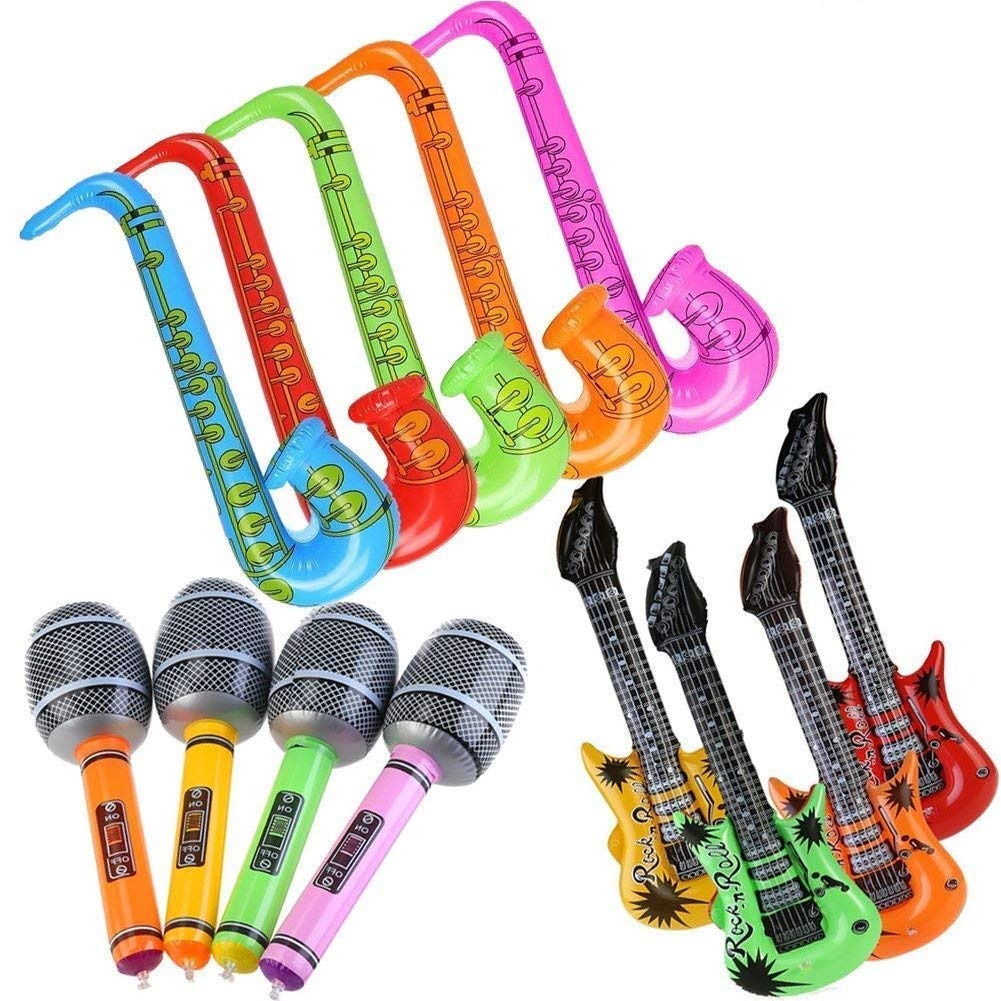 EPRHY - Globos hinchables para Guitarra y saxofón ...