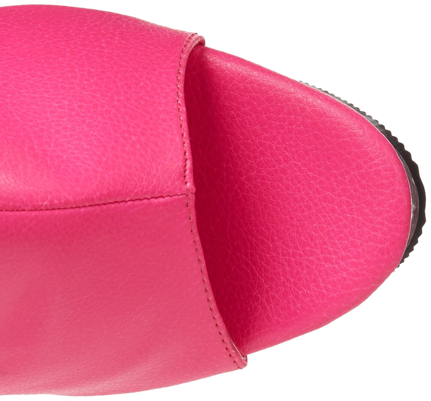 Pleaser Women's Illusion-1018 Boot B00B472PG0 7 B(M) US|Neon Hot Pink Polyurethane/Hot Pink