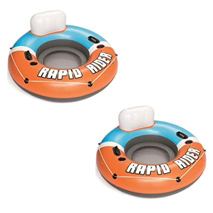 Amazon.com: Bestway CoolerZ Rapid Rider - Juego de 2 tubos ...