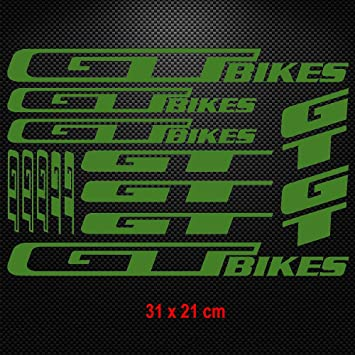 SCHWINN Mountain Bicycle Frame Decal Sticker Graphic Set Adhesive Vinyl Black