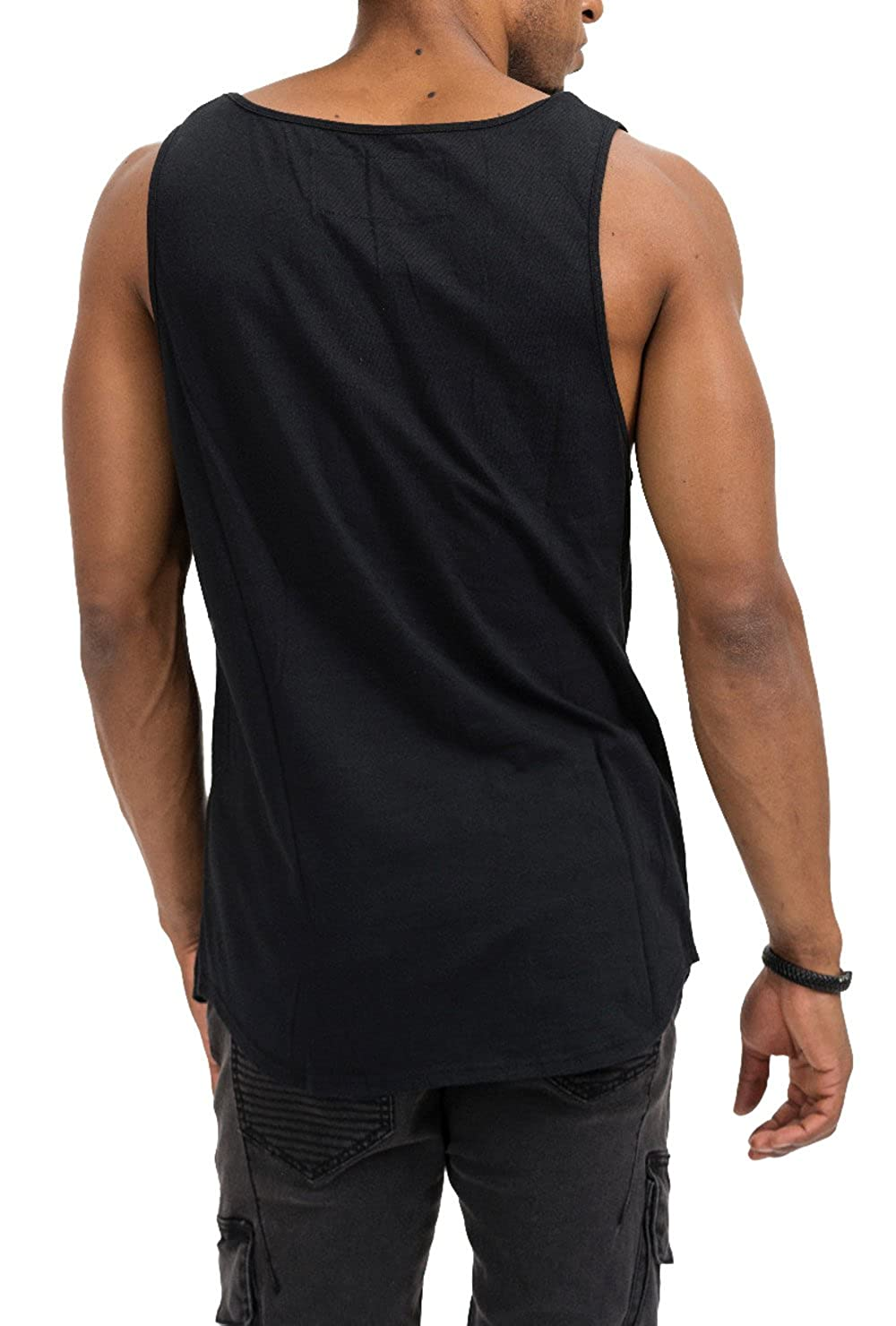trueprodigy Casual Hombre Marca Camiseta De Tirantes Basico Ropa ... bcc8adabb5a