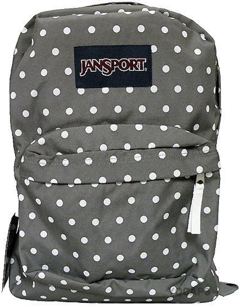 JanSport T501 Superbreak Backpack – Shady Grey White Dot