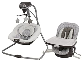 Graco Simple Sway Baby Swing With Swivi Seat 3 In 1 Booster