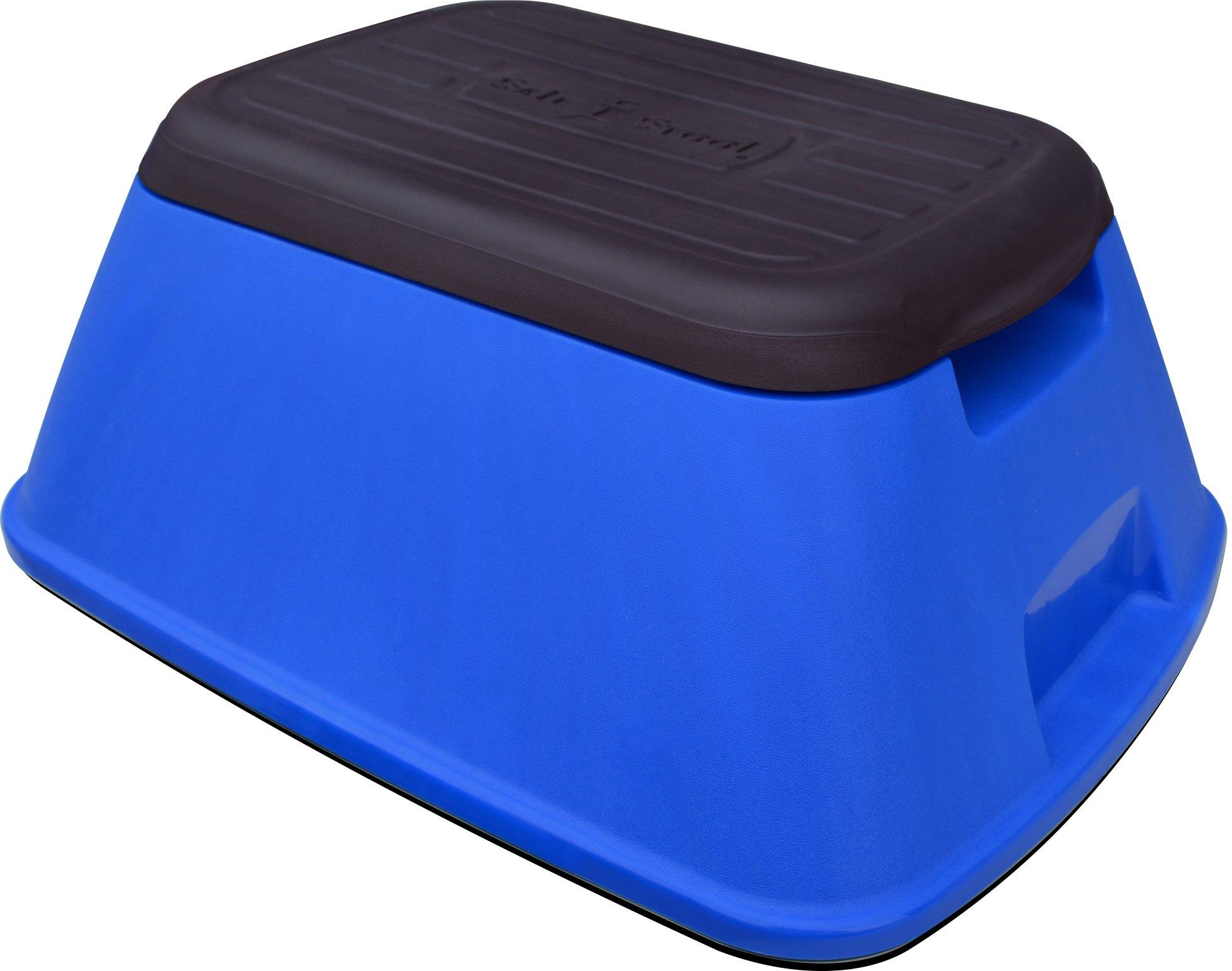 Safe-T-Stool the Safest, Most Versatile Stool in America (Matte Blue)