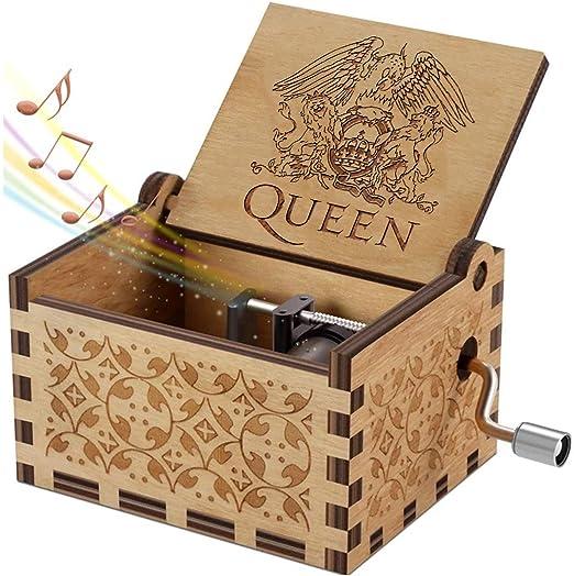Evelure Caja de música de Madera Tema Queen, Las Cajas de música ...