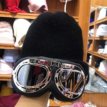 MS.REIA Gorros de Invierno Sombrero de Punto cálido con ...