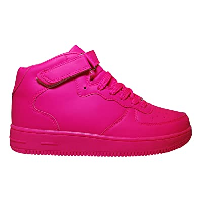 half off 0d628 cd0c5 JT Damen Neon High Top Sneaker Sportschuhe Fitness Freizeit ...