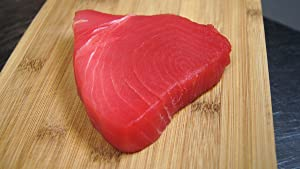 Ahi Tuna Yellowfin Sushi grade #1 wild caught 2 LB