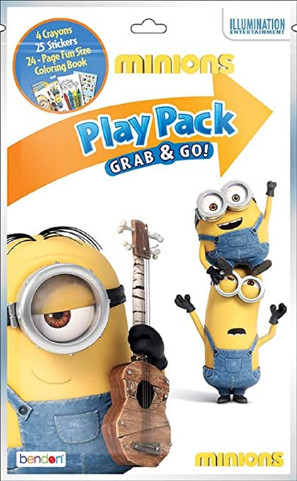 Minion Grab n Go Play Despicable Childrens Party Pack