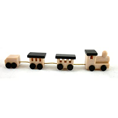 Town Square Miniatures Dolls House 1:12 Scale Miniature Shop Nursery Accessory Classic Boys Toy Train: Toys & Games