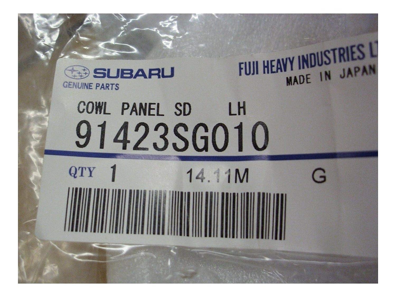 Genuine 14-18 Subаru Cowl Panel Side LH Forester MPN91423SG010