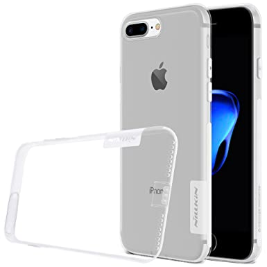 Nillkin Nature - Carcasa protectora y antideslizante de gel TPU para Apple iPhone 7 Plus / 8 Plus - Transparente