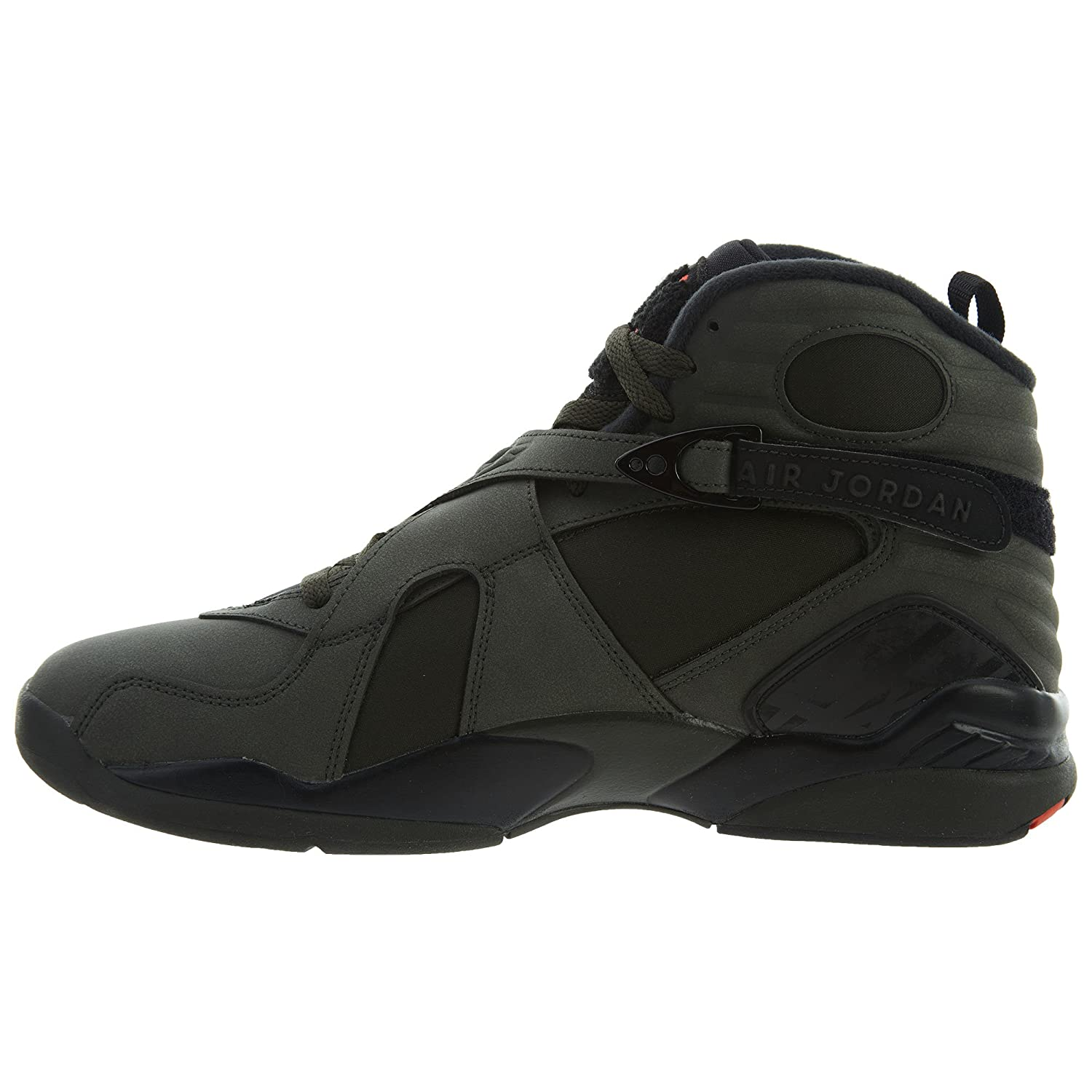 d2768bcc9b3958 Nike Air Jordan 8 Retro Take Flight Olive Green - Sequoia Max Orange-Black  Trainer  Amazon.co.uk  Shoes   Bags