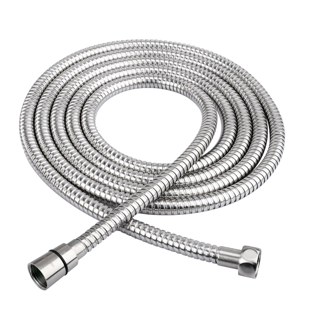 HOMEIDEAS 118-Inch Shower Hose SUS 304 Stainless Steel Extra Long Shower Head Hose Bathroom Handheld Showerhead Sprayer Extension Replacement,Polished Chrome by HOMEIDEAS