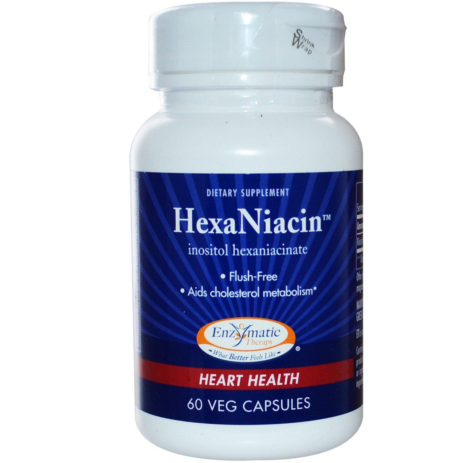 HexaNiacin Flush Free 60 Capsules (Pack of 2)