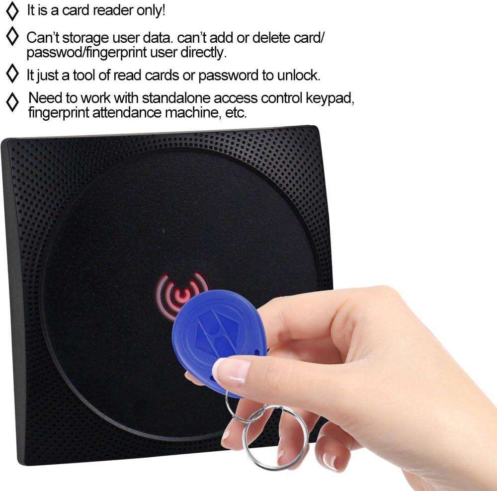 wasserdichte IP65-T/ürzugangskontrolltastatur 125-kHz-RFID-Kartenleser Touch-Passwort T/ürzugangskontrollsystem f/ür die Sicherheit zu Hause Tangxi RFID-T/ürzugangskontrollmaschine