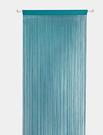 Delicieux String Curtains For Living Room Kitchen Decor Sheer Curtains Teal Curtains  Room Divide (100X200cm,