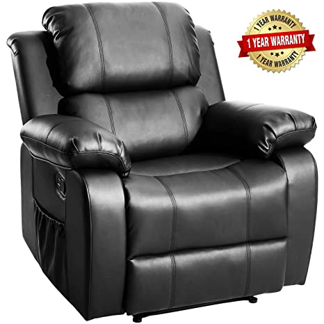 Amazing Merax Massage Recliner Chair With Heat And Massage Heated Vibrating Massage Recliner Gamerscity Chair Design For Home Gamerscityorg