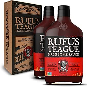 Rufus Teague: Blazin' Hot BBQ Sauce