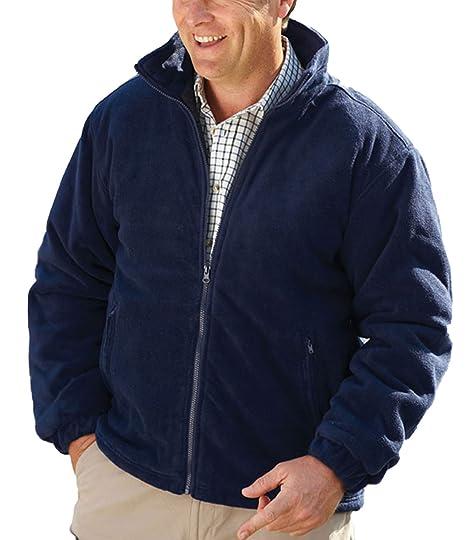 Champion, Glen Country Estate - Chaqueta acolchada con forro polar, Hombre, color azul