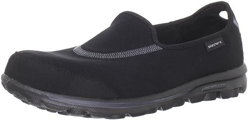 14bcde2d17dc2 Skechers GO Walk 13510 BBK - Zapatos de Tela para Mujer  Amazon.es  Zapatos  y complementos