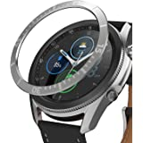 Ringke Bezel Styling Compatible with Galaxy Watch 3 45mm Bezel Ring Adhesive Cover Anti Scratch Stainless Steel Protection Ac