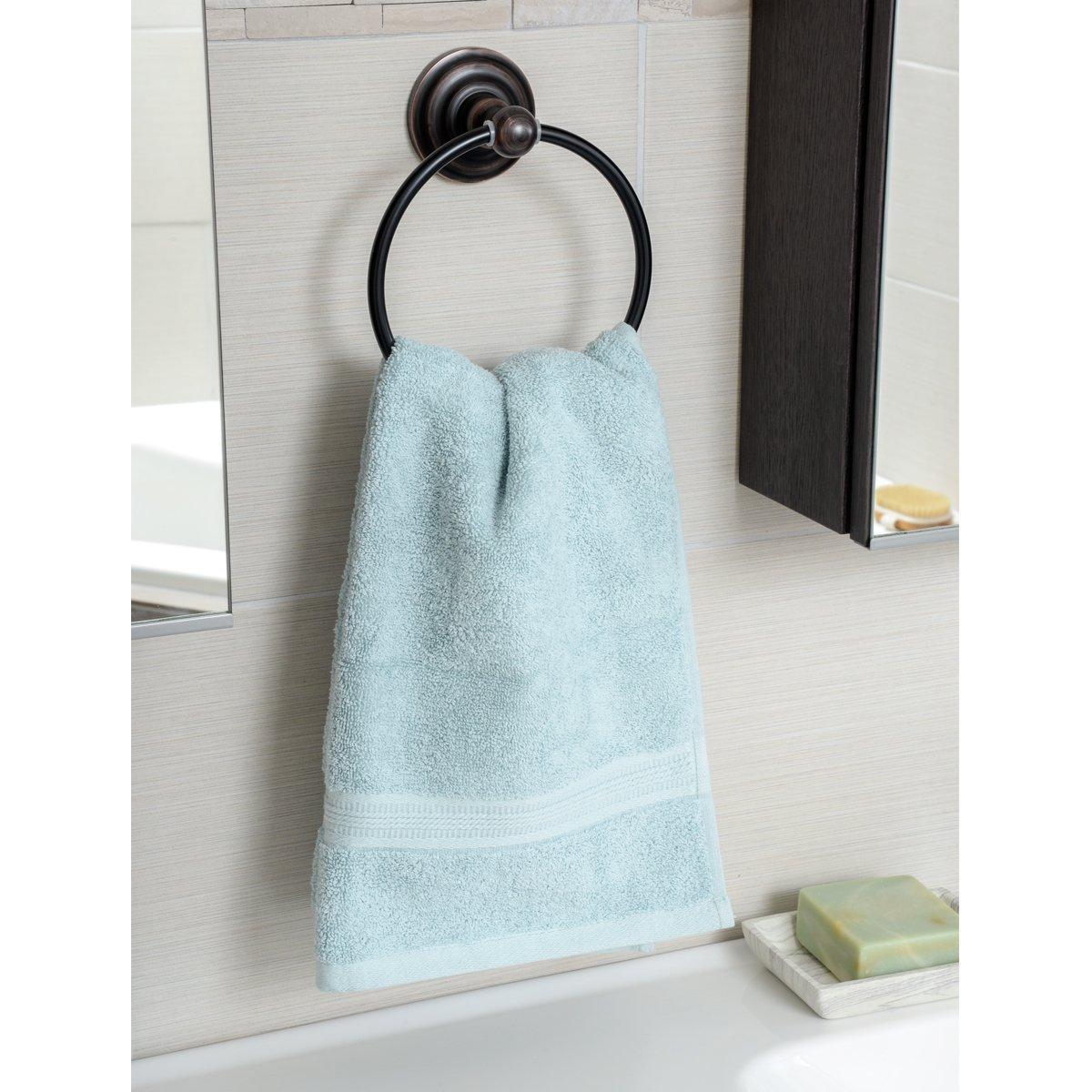 Porta asciugamani ad anello finitura canna di fucile stile tradizionale Basics