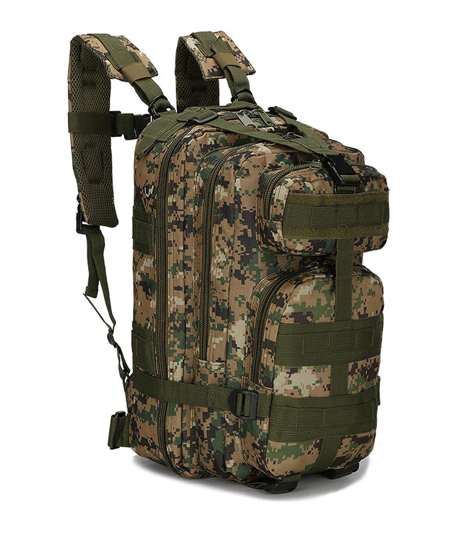 8 One Size Men Backpack 30L Camouflage Outdoor Sport Hiking Camping Bags Women Travelling Trekking Rucksacks Bag