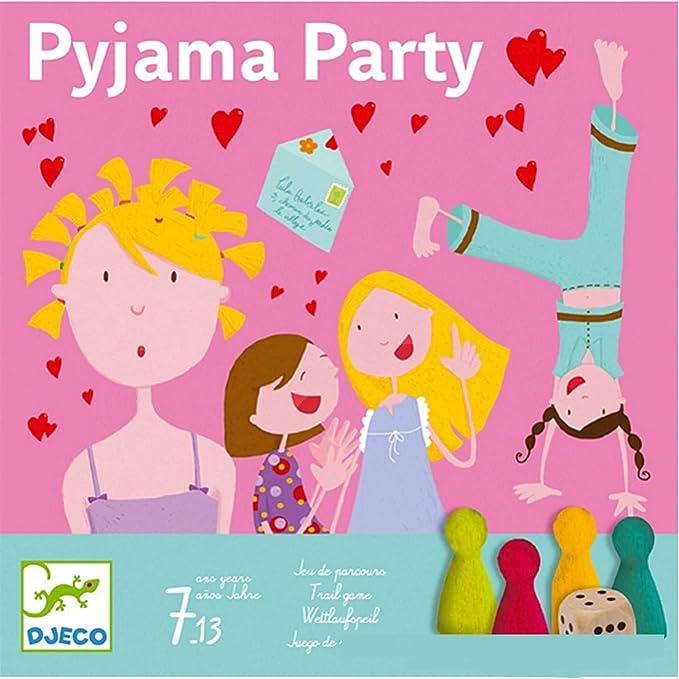 DJECO- Juegos de acción y reflejosJuegos educativosDJECOJuego Pijama Party, Multicolor (15): Amazon.es: Juguetes y juegos
