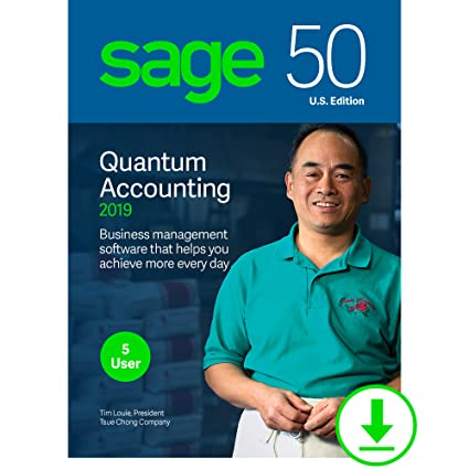 d7edb04b3 Amazon.com  Sage 50 Quantum Accounting 2019 – Small Business Accounting  Management Software – Payment and Inventory Management – Safe and Secure –  Easy ...