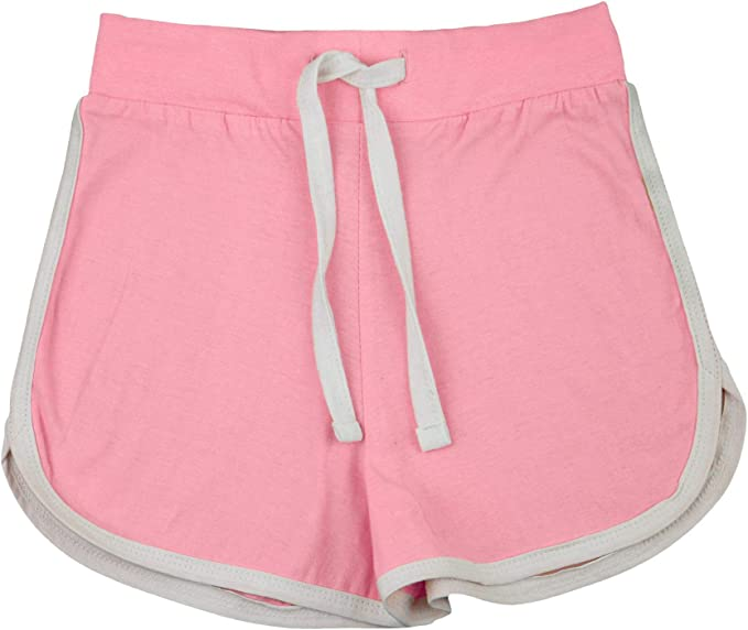A2Z 4 Kids Kids Girls Shorts 100/% Cotton Gym Dance Sports Trendy Fashion Black /& Neon Pink Summer Hot Short Running Pants New Age 5 6 7 8 9 10 11 12 13 Years