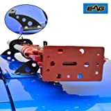 EAG Hi Lift Jack Mounting Hood Hinge Brackets Fit