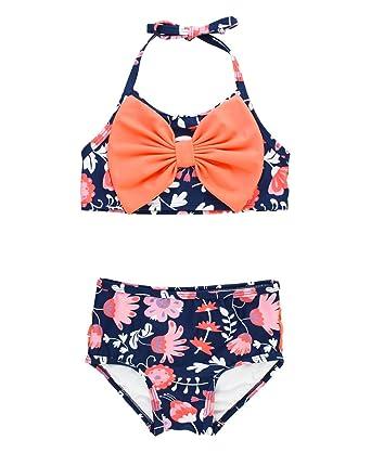 8d39ab50e9 Amazon.com: RuffleButts Baby/Toddler Girls Bikini 2-Piece Swimsuit ...